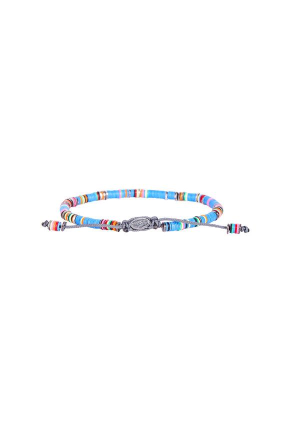 M. Cohen Blue Rondelle Bracelet