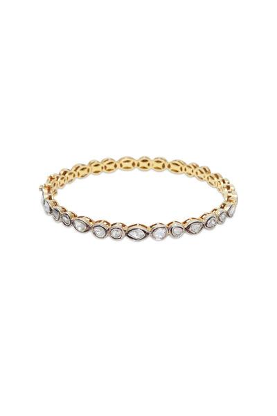Loren Jewels - Sterling Silver White Diamond Bracelet