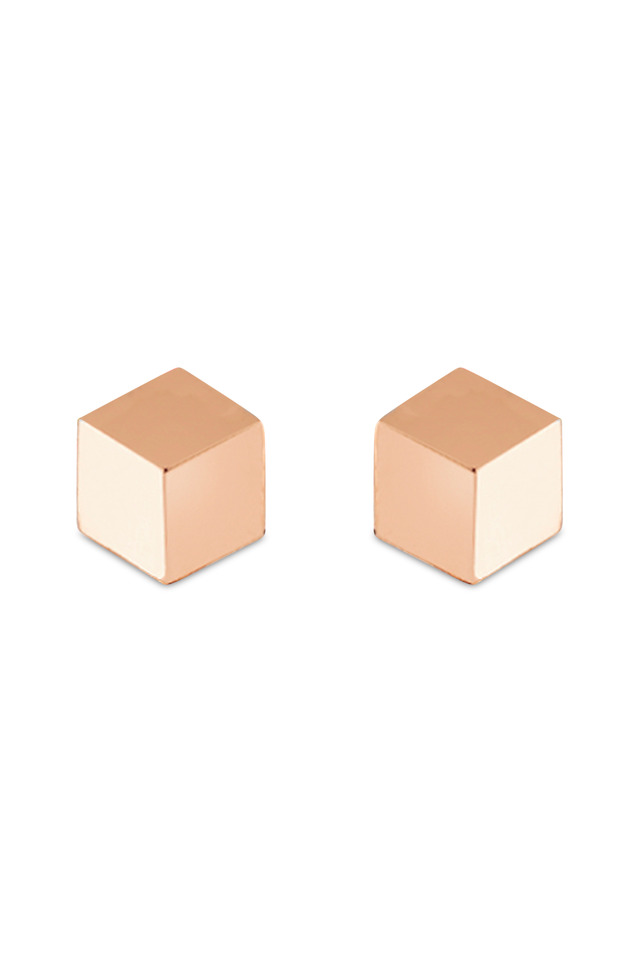 Brillante Rose Gold Stud Earrings