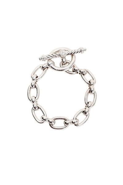 Kai Linz - 18K White Gold Diamond Link Bracelet