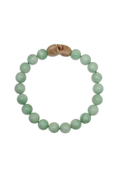 Patricia von Musulin - Sterling Silver Green Amazonite Necklace