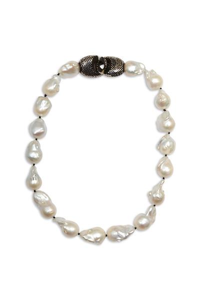 Patricia von Musulin - Sterling Silver Pearl Strand Necklace