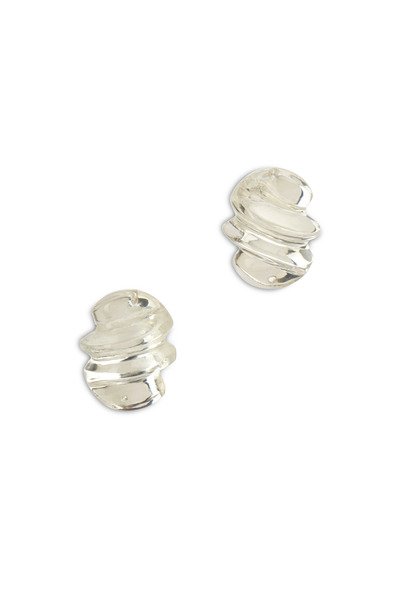 Patricia von Musulin - Sterling Silver Lucite Earrings