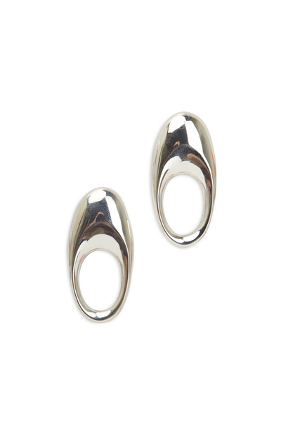 Patricia von Musulin - Sterling Silver Loop Hoop Earrings