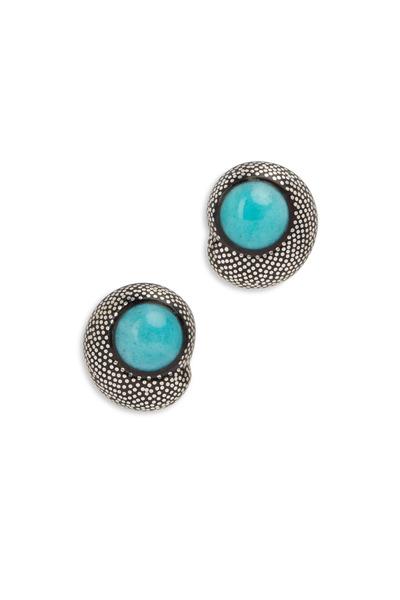 Patricia von Musulin - Blue Amazonite Baroque Fantasy Earrings