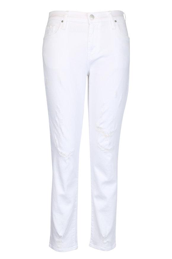 J Brand Sadey Mid-Rise Slim Straight Jean