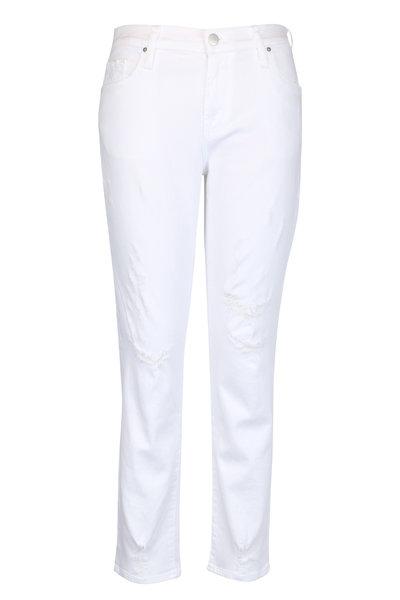 J Brand - Sadey Mid-Rise Slim Straight Jean