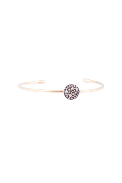 Pomellato - 18K Rose Gold Brown Diamond Sabbia Bangle