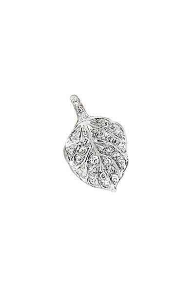Aaron Henry - Platinum Diamond Aspen Leaf Pendant