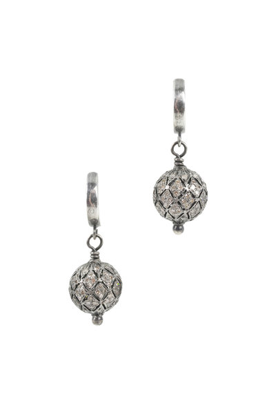 Kary Kjesbo - Victorian Diamond Earrings