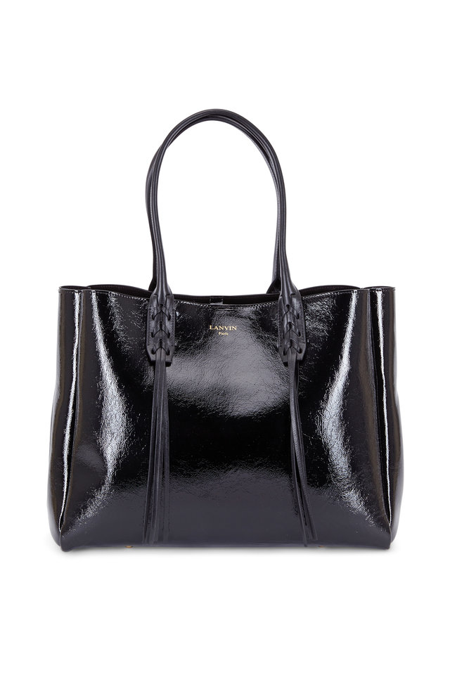 Shop leather black patent bag at Neiman Marcus, where you will find free shipping on the latest in fashion from top designers.