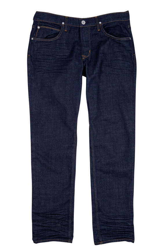 Hudson Clothing Blake Indigo Slim Straight Jean