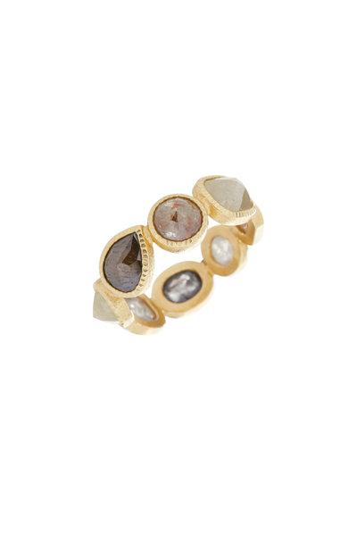 Todd Reed - 18K Yellow Gold Natural Diamond Ring