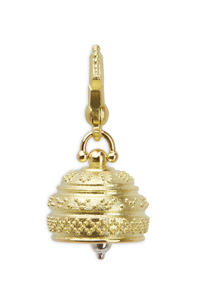 Paul Morelli - Meditation Bell Yellow Gold Charm Pendant