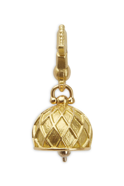 Paul Morelli - Yellow Gold Vaulted Bell Charm Pendant
