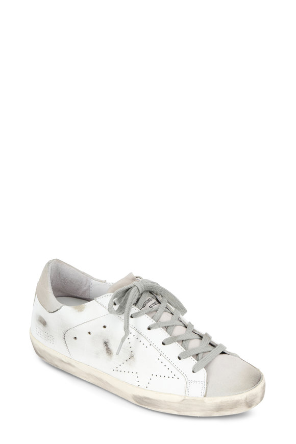 Golden Goose Women's Superstar White Leather Low Top Sneaker