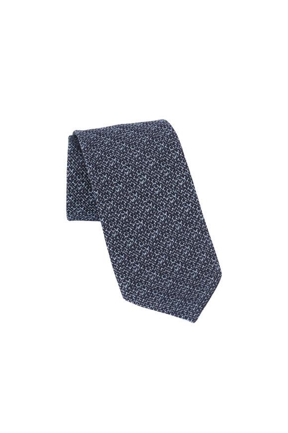 Ermenegildo Zegna Dark Blue Necktie