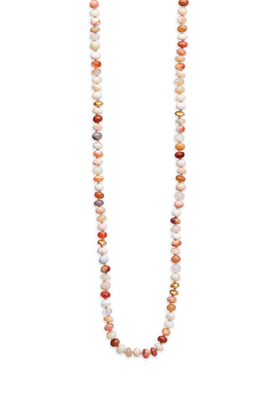 Yossi Harari - Yellow Gold Fire Opal Wrap Necklace