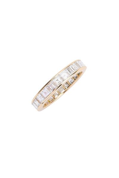 Oscar Heyman - 18K Yellow Gold Diamond Guard Ring
