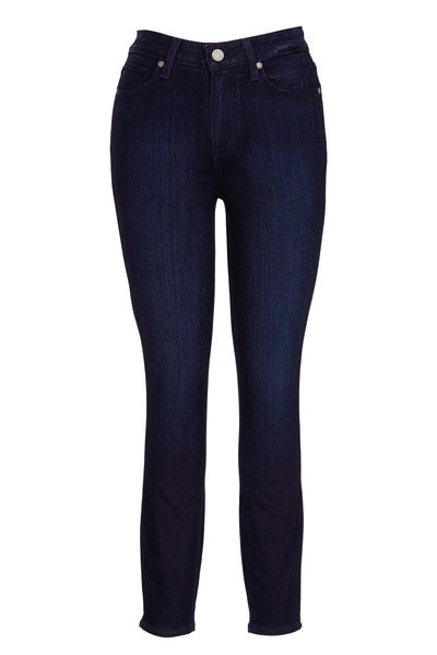 PAIGE - Hoxton High-Rise Ultra Skinny Crop Jean
