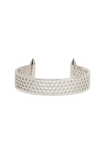 Eddie Borgo - Sterling Silver Plated Brass Aerator Cuff Bracelet