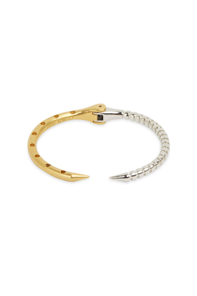 Eddie Borgo - Yellow Gold & Sterling Silver Hybrid Cuff Bracelet