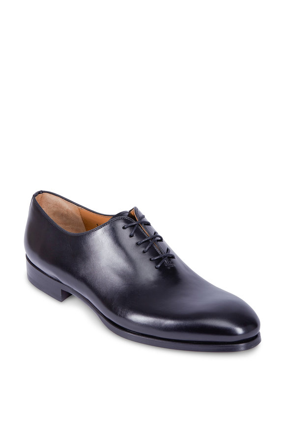 Magnanni Montay Black Leather Oxford