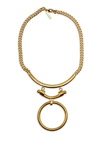 Eddie Borgo - Yellow Gold Plated Brass O-Ring Necklace