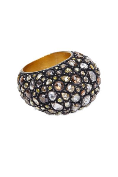 Yossi Harari - Sara Mosaic Diamond Ring