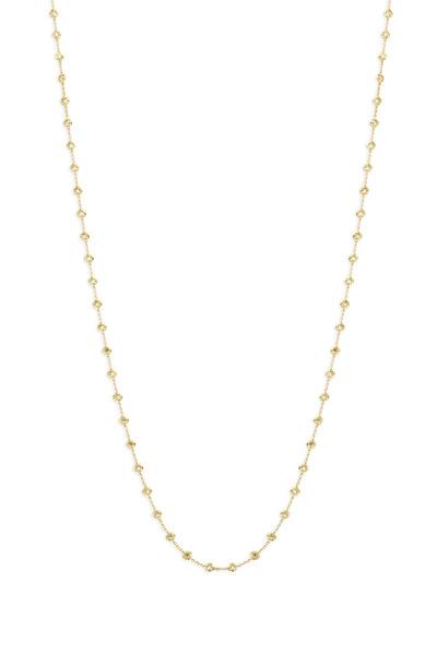 Paul Morelli - 18K Yellow Gold Diamond Necklace