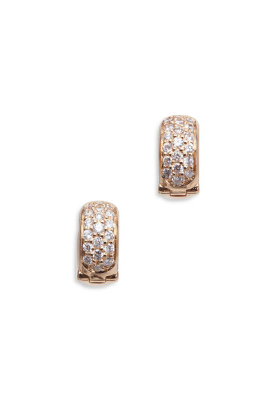 Paul Morelli - 18K Pink Gold Diamond Earrings