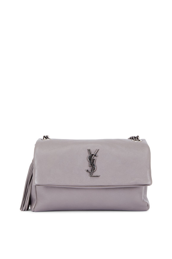 Saint Laurent West Hollywood Fog Leather Shoulder Bag
