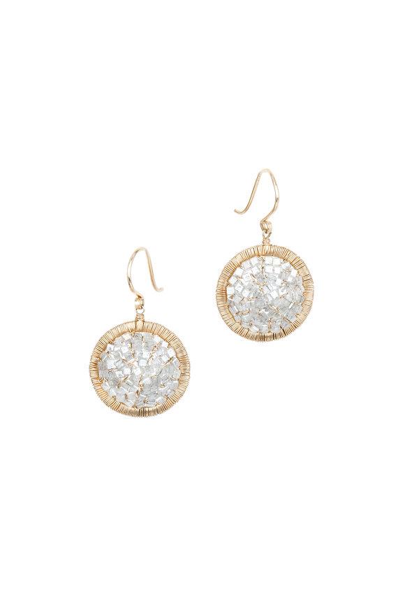 Dana Kellin Gray Diamond Earrings