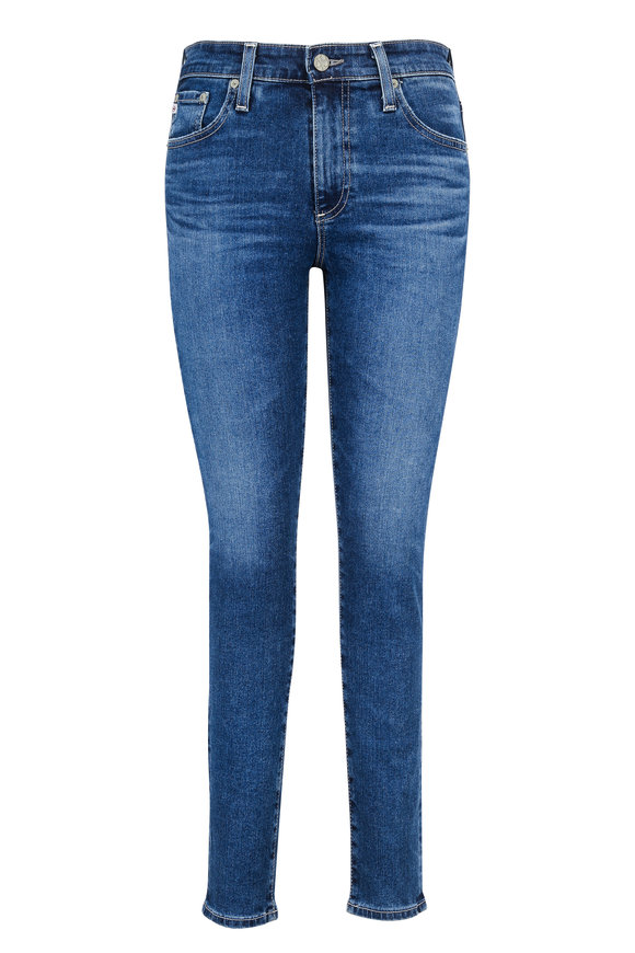 AG - Adriano Goldschmied The Farrah High-Rise Skinny Ankle Jean