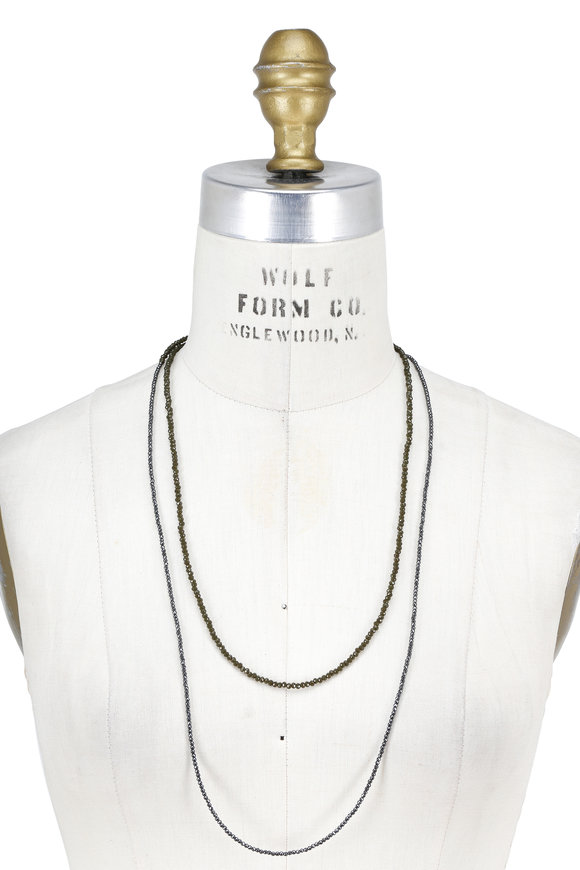 Brunello Cucinelli Military Bead & Monili Convertible Wrap Necklace