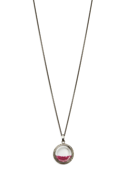 Loriann - Gold & Silver Ruby Shake Diamond Necklace