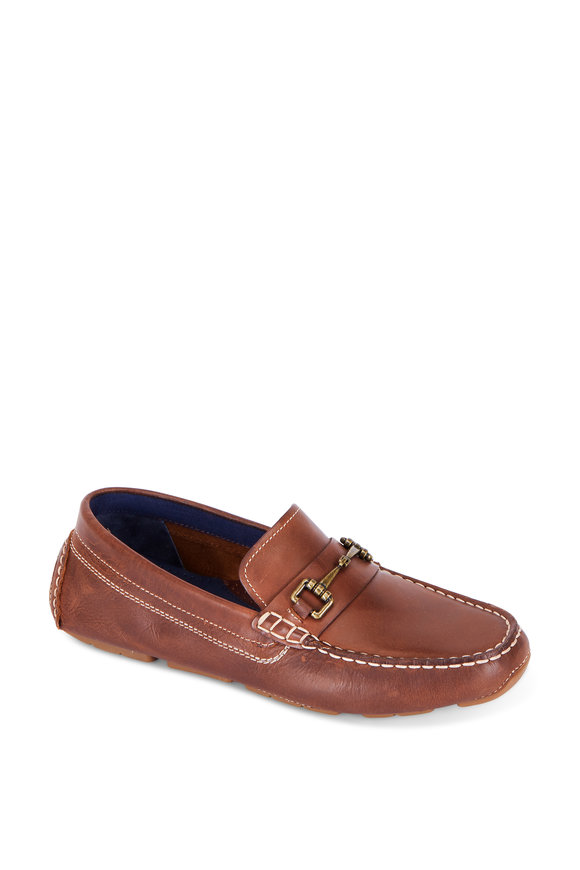 Cole Haan Kelson British Tan Leather Bit Driver
