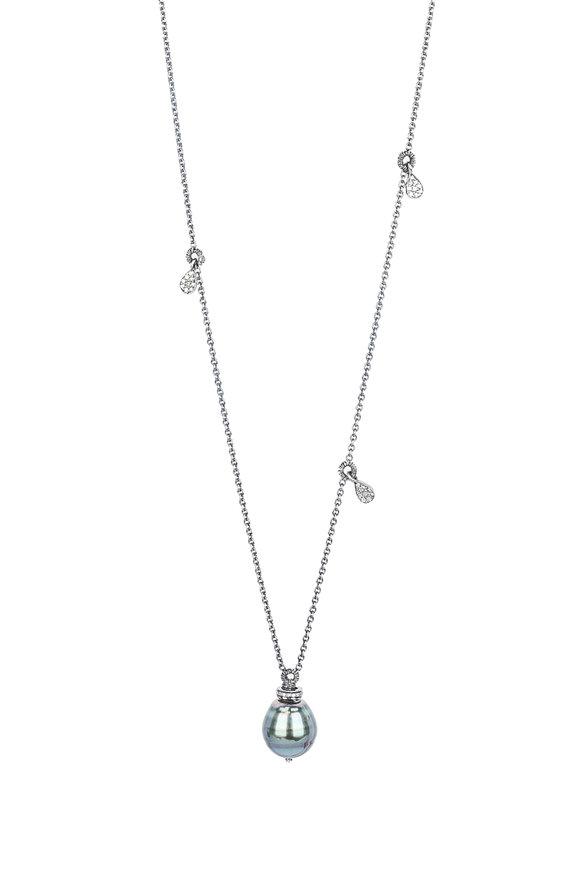 Dana Kellin Tahitian Pearl & Diamond Necklace