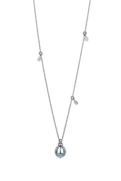 Dana Kellin - Tahitian Pearl & Diamond Necklace