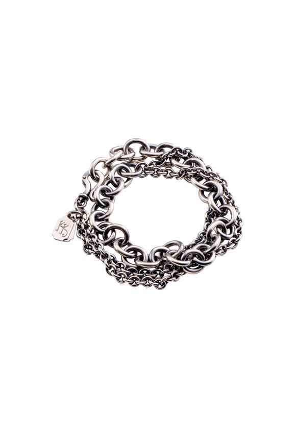 Kary Kjesbo Sterling Silver Light Essential Bracelet