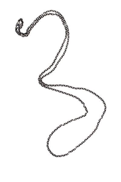 Sylva & Cie - Oxidized Sterling Silver Chain