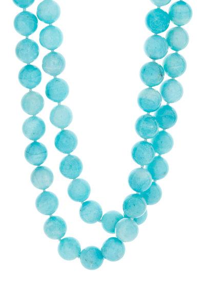 Patricia von Musulin - Blue Amazonite Beaded Necklace