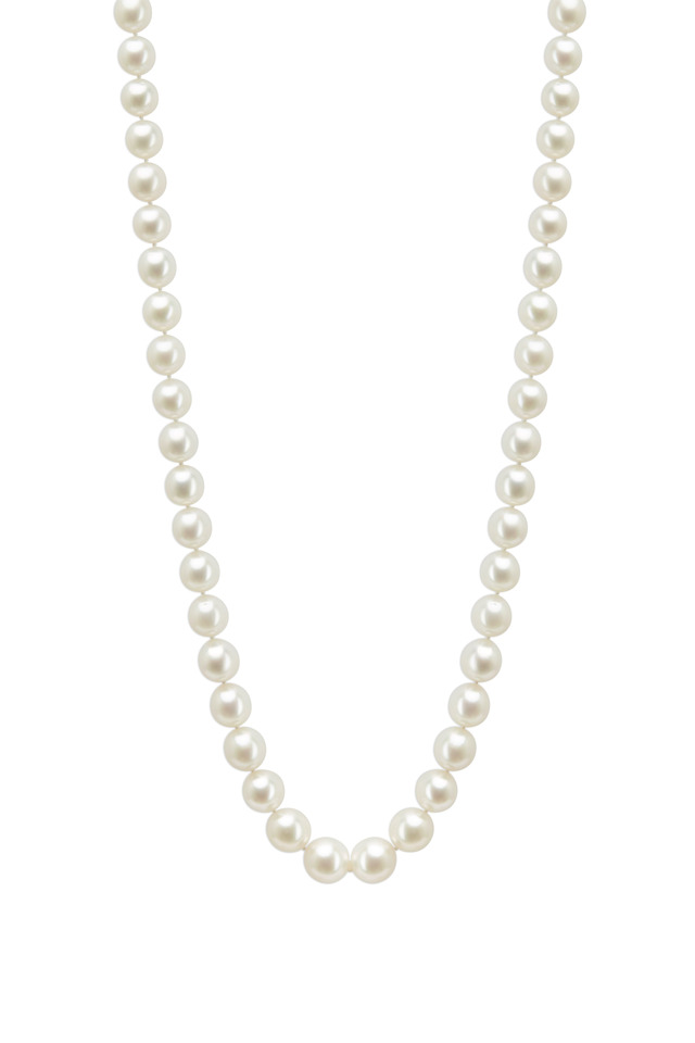 White Gold White South Sea Pearl Necklace