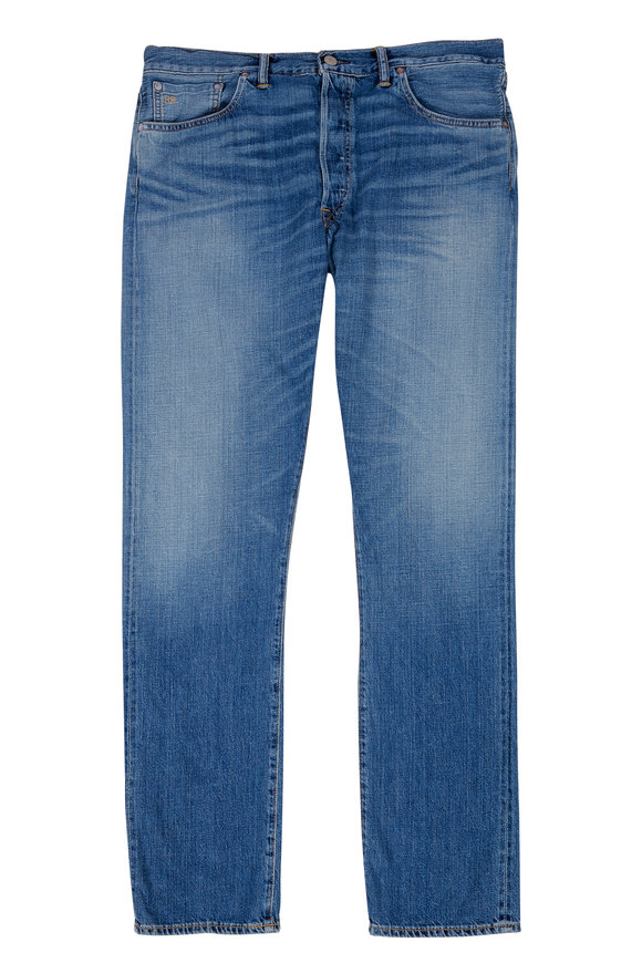 RRL Slim Narrow Selvedge Jean