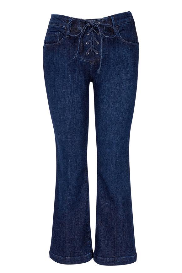 Frame Le Crop Mini Boot Lace-Up Jean