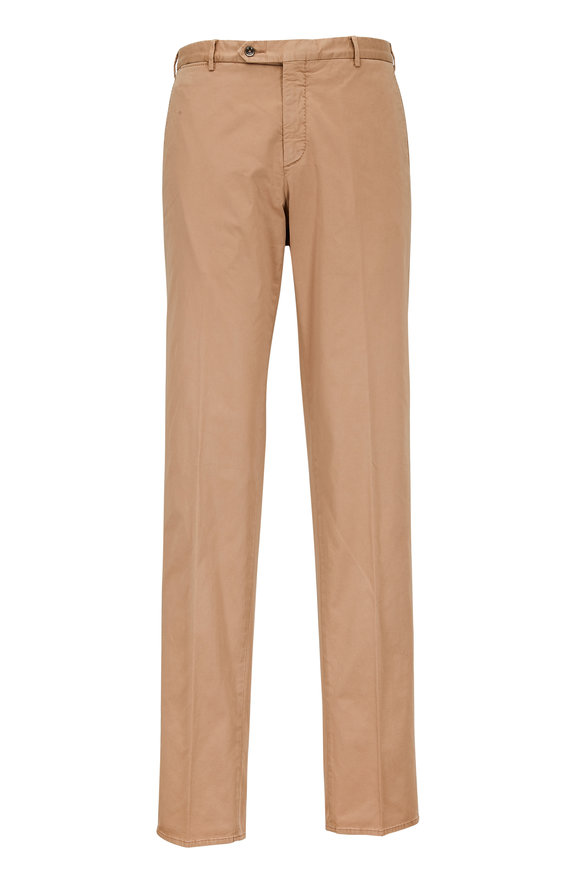 Zanella Parker Tan Cotton Pant