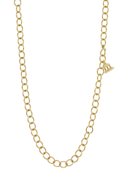 Temple St. Clair - 18K Yellow Gold Oval Link Chain