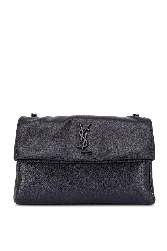 Saint Laurent West Hollywood Black Leather Shoulder Bag