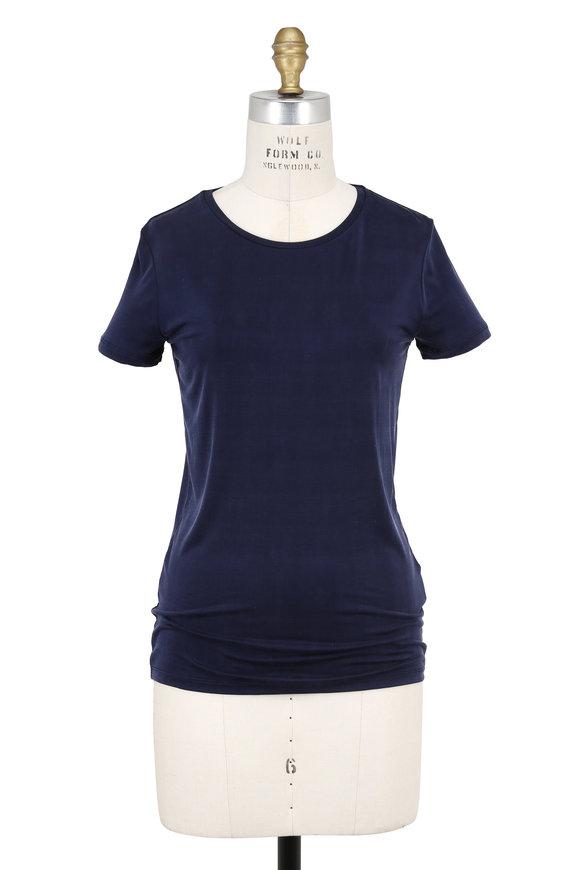 Majestic Marine Stretch Short Sleeve Crewneck T-Shirt
