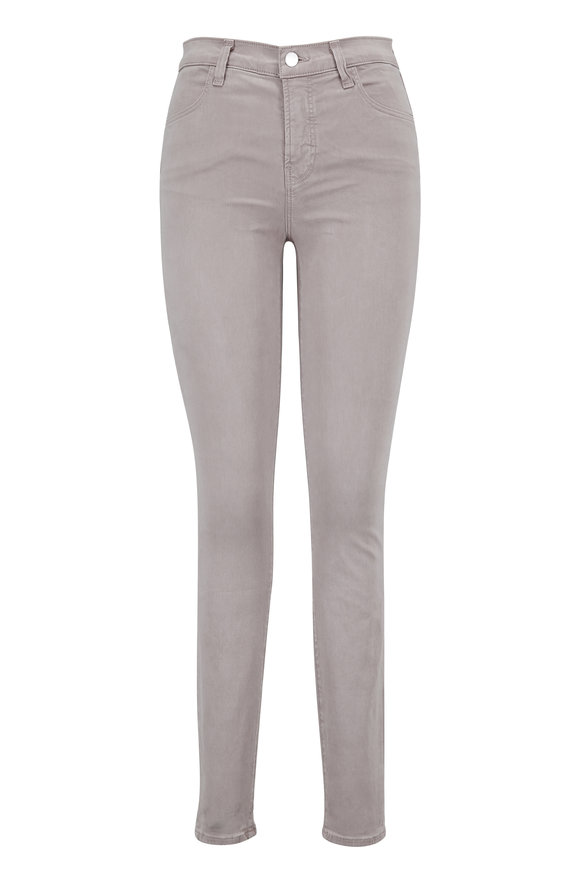 J Brand Maria Luxe Sateen High-Rise Super Skinny Jean
